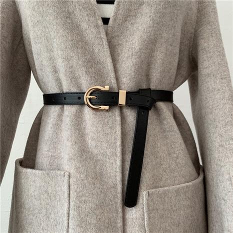 moda cinturón salvaje simple de moda NHWP328360's discount tags