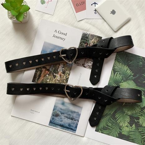 Nuevo cinturón de hebilla de amor de moda NHWP328365's discount tags
