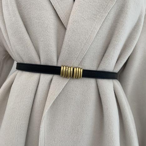 cinturón ajustable retro nueva moda NHWP328368's discount tags