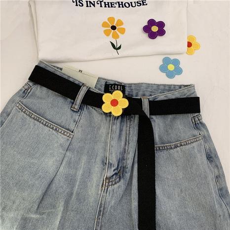 nueva moda cinturón de flores lindo no poroso NHWP328370's discount tags