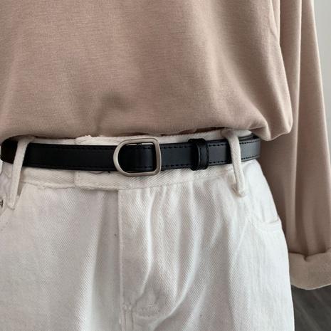 cinturón no poroso salvaje de moda retro NHWP328384's discount tags