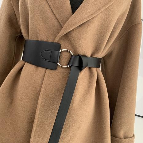 nuevo cinturón anudado salvaje simple NHWP328394's discount tags