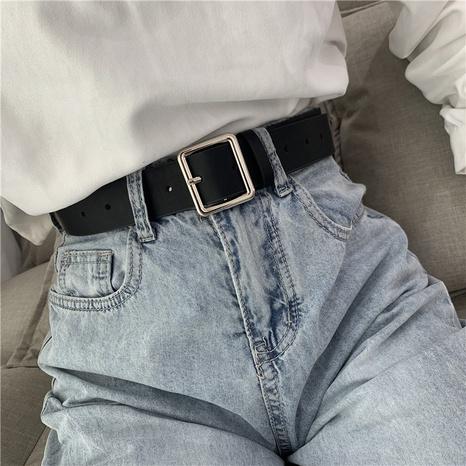 nuevos cinturones cuadrados de moda coreana NHWP328395's discount tags