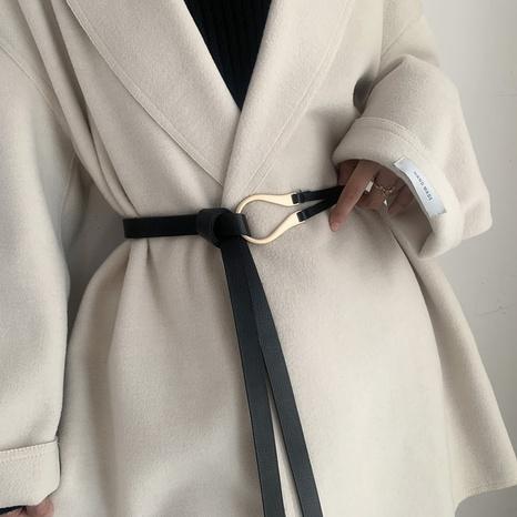 moda simple cinturón anudado de moda salvaje NHWP328396's discount tags