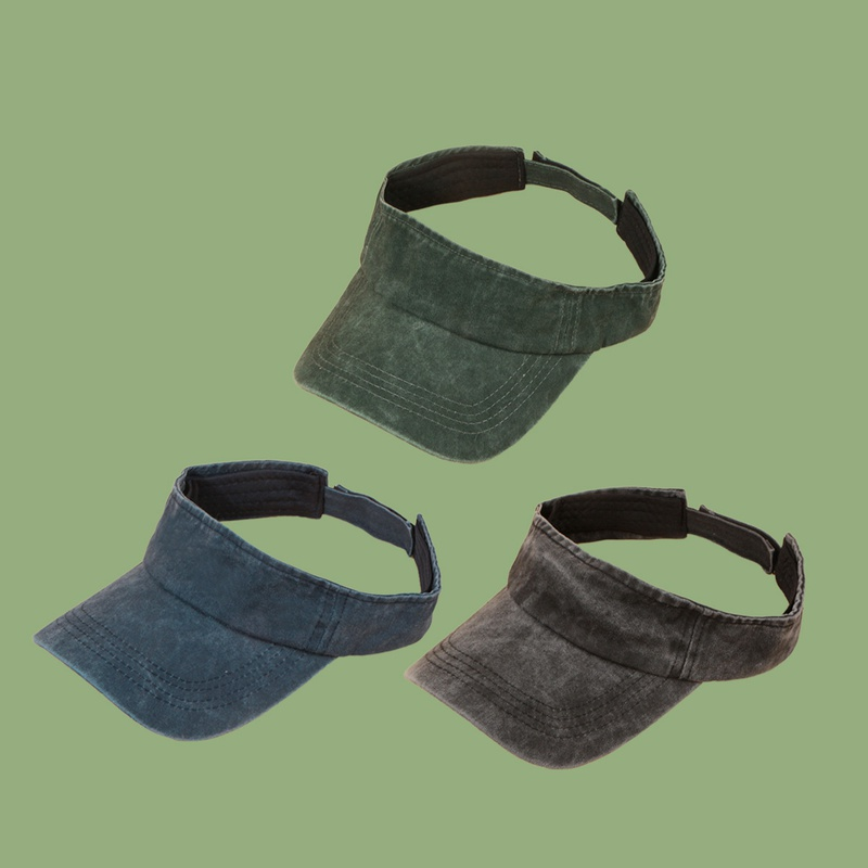 Korean washed shade empty top hat NHTQ328440