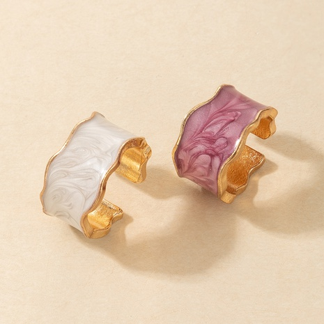 Korean retro wild color handmade ring NHGY329093's discount tags