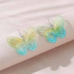 Koreanische einfache kreative Schmetterlingsohrringe NHPS328634