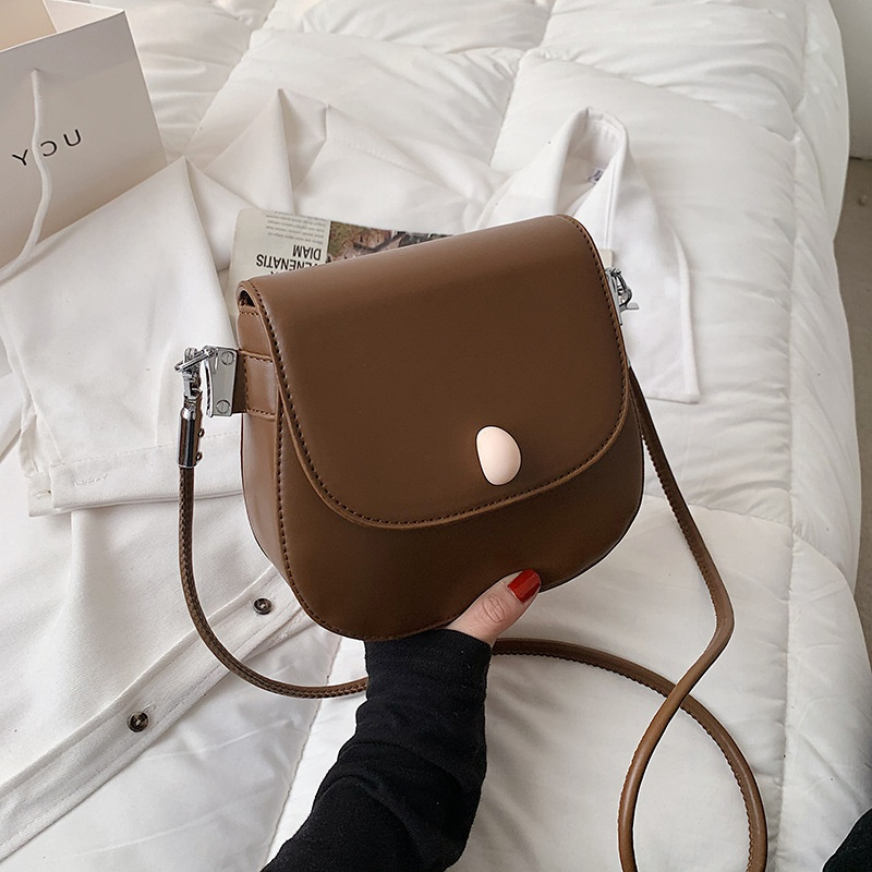 Fashion small square bag shoulder bag texture messenger bag handbag NHLH328651