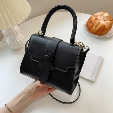Bolsos de gran capacidad bolso cuadrado pequeño bolso bandolera bolsa de mensajero con textura NHLH328655's discount tags