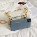Fashion transparent messenger cylinder portable bag NHLH328708