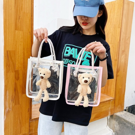 sac portatif transparent en pvc pour enfants NHTG328715's discount tags