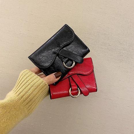 Portefeuille de couleur unie multi-cartes à la mode en gros NHTG328743's discount tags