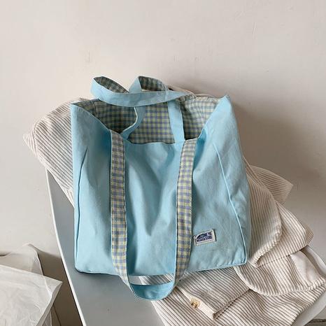 sac en toile portable à bandoulière simple NHTG328757's discount tags