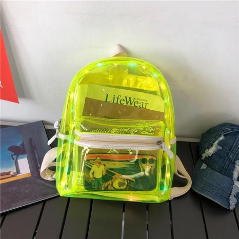 Mode sac à dos transparent en gros NHTG328758's discount tags