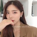 Korean Inlaid Pearl Alloy Earrings  NHWB328946