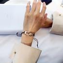 Bracelet tress en cuir avec menottes Punk en gros NHCU329050