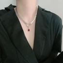 Fashion Tassel Gemstone Necklace Wholesale NHYQ329194