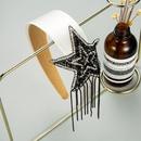 fivepointed star full diamonds tassel headband  NHLN329231