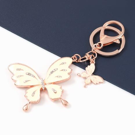 Legierung Öl Tropfen Diamant Schmetterling Schlüsselbund NHJE329287's discount tags