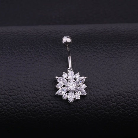 stainless steel belly button ring wholesale NHEN329340's discount tags