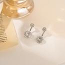 Korean fashion zircon earrings NHGY329611