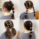 Korean simple colorful candy color elastic hair ring set NHCQ319085