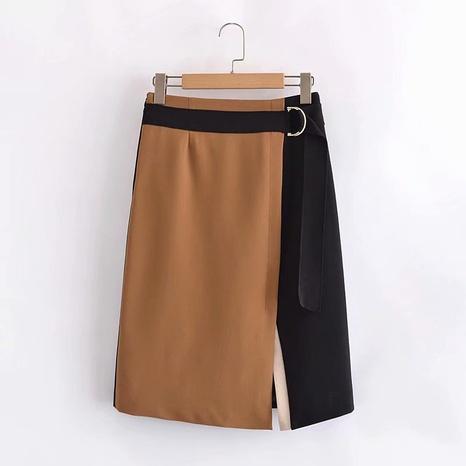 neue Mode Kontrastfarbe unregelmäßigen Nährock NHAM319096's discount tags