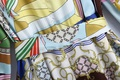 fashion print long sleeve dress NHAM319102