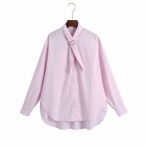 spring loose drop shoulder sleeves cardigan blouse top NHAM319108's discount tags