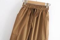 new fashion camel color casual pants NHAM319120