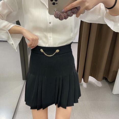 new fashion casual shorts pleated skirt NHAM319132's discount tags