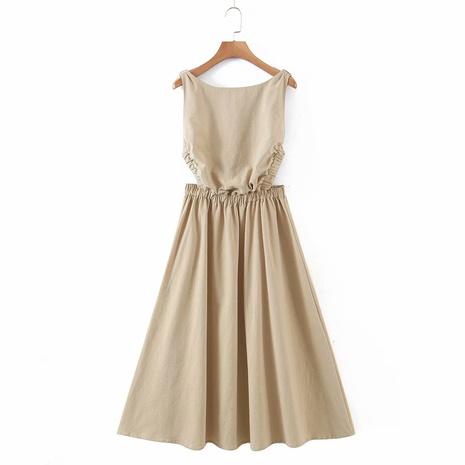 Mode elastisches rückenfreies Kleid NHAM319187's discount tags