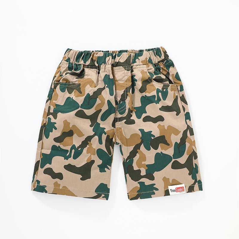 summer Korean casual fashion camouflage shorts NHLF319384