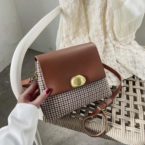 Fashion portable solid color underarm bags messenger bag NHJZ319455's discount tags
