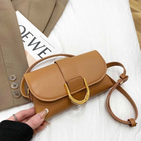 Fashion messenger bag white-collar solid color crossbody bag NHJZ319456's discount tags