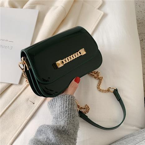 Fashion messenger bag solid color mini clutch bag  NHJZ319472's discount tags