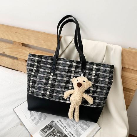 Large-capacity tote new fashion casual bag NHXC319516's discount tags
