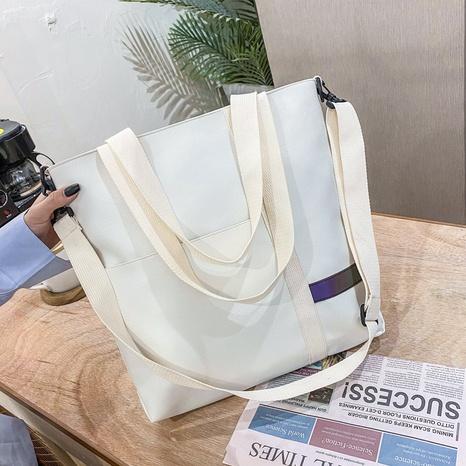 simple large-capacity shoulder fashion tote bag NHXC319523's discount tags