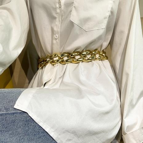cadena de cintura geométrica retro NHXR329663's discount tags