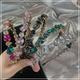 fashion diamondstudded flower headband NHOF329669