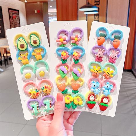 Karikaturbonbonfarbe Kinderhaarseil NHNA329707's discount tags