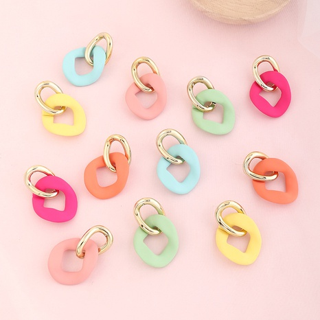simple retro double circle earrings  NHNZ329736's discount tags