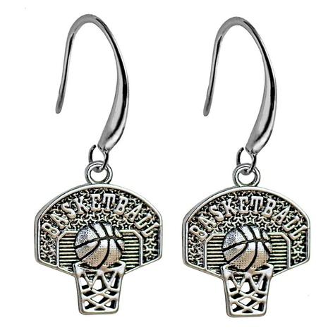 Basketball hoop earrings wholesale NHACH329880's discount tags