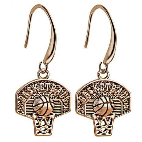 sports basketball hoop earrings wholesale NHACH329883's discount tags