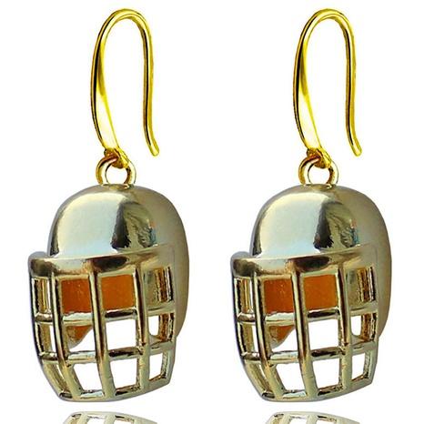 fashion football helmet earrings wholesale NHACH329884's discount tags