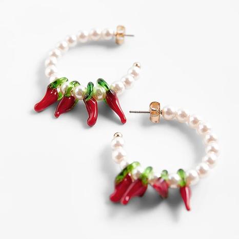 bohemia pepper pearl earrings  NHLA329915's discount tags