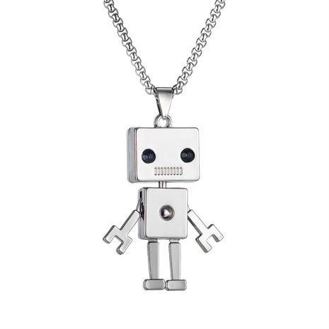 Einfache quadratische Titan-Stahlkette aus Roboter NHOP329953's discount tags