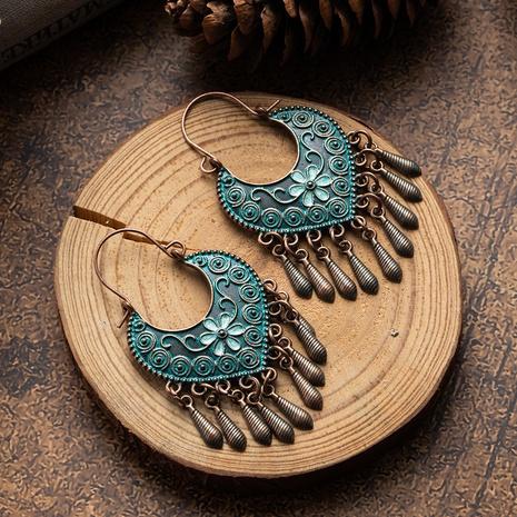 Bohemian ethnic style retro earrings  NHAKJ329982's discount tags