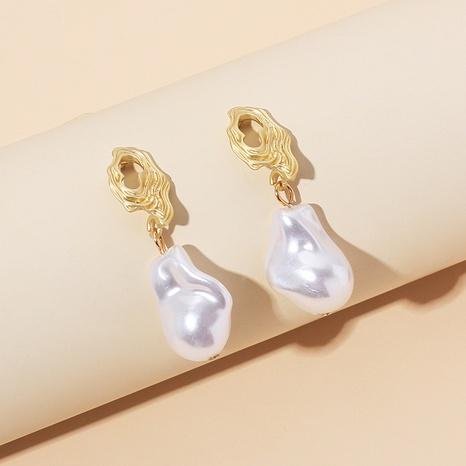 new fashion pearl earrings NHRN319559's discount tags