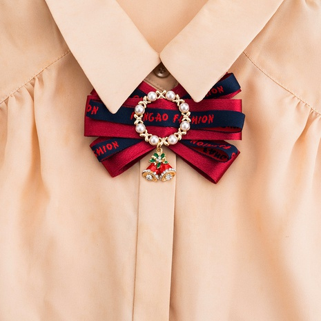 new fashion multi-layer bow brooch NHJE319603